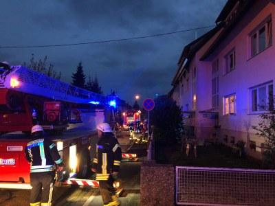 01.12.2018 Küchenbrand Schlösslestraße 9