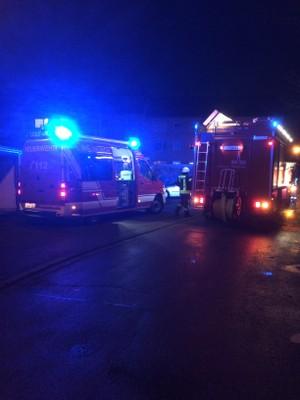 02.02.2017 Brand auf Balkon August-Faller-Straße