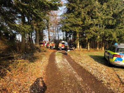 04.01.2019 Waldarbeiterunglück Kohlenbach 2