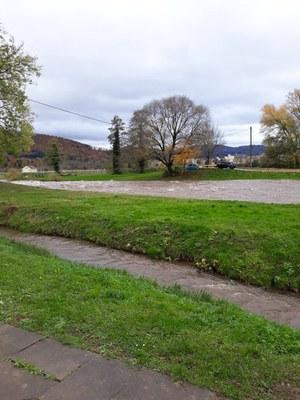 12.11.2017 Hochwasser/Unwetter 12