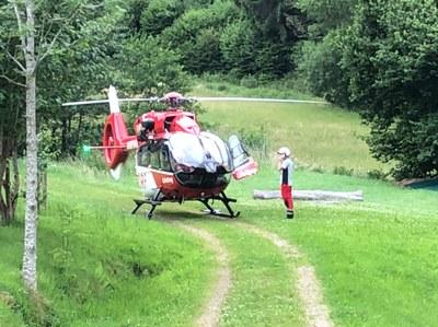 15.06.2020 Hubschrauber Dettenbach (DL-Einsatz)