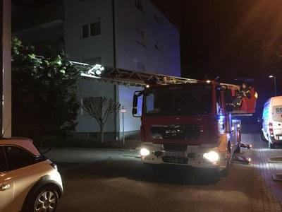 20.03.2018 Unterstützung Rettungsdienst Moltkestraße