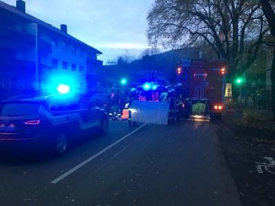 20.11.2017 Verkehrsunfall mit Personenrettung