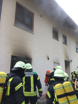 28.07.2018 Wohnungsbrand Suggental, Müllerhofweg 2