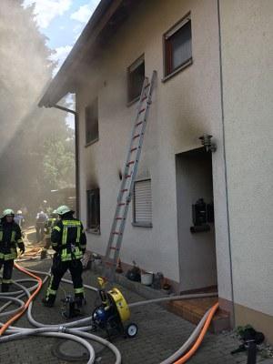 28.07.2018 Wohnungsbrand Suggental, Müllerhofweg 3