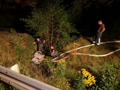 30.08.2019 Gewaesserverunreinigung Gewerbekanal Kollnau 6