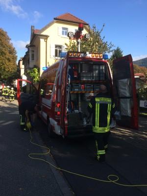 Übungsobjekt 2: Gebäudebrand (Einsatzleitung)
