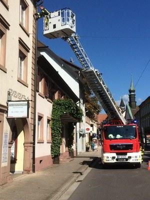 27.09.2014 Sicherung Gebäudeteile
