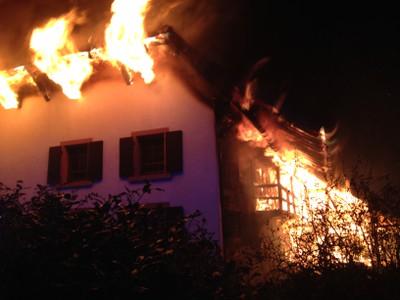 06.12.2014 Grossbrand in Buchholz