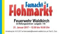 VORANKÜNDIGUNG: Fasnachts-Flohmarkt im Rettungszentrum!