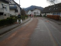 Ausgelaufene Betriebsstoffe in Buchholz