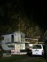 Ausleuchten nach Felssturz, Max-Barth-Weg
