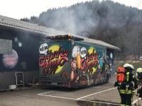 Brand eines Imbisswagens, Langestraße