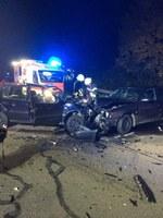 Verkehrsunfall auf der L186