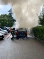 Fahrzeugbrand, Am Kastelberg