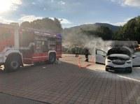 Fahrzeugbrand, An den Brunnenwiesen