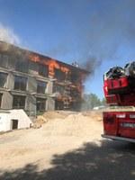 Fassadenbrand, Am Bruckwald