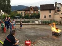 Ferienspielaktion bei der Feuerwehr