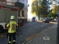 Herbstübung: Verkehrsunfall und Gebäudebrand