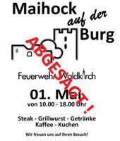 Maihock abgesagt!