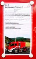 Neuer Gerätewagen Transport (GW-T)