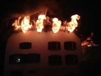Sachstand zum Gebäudevollbrand