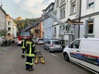 Unterstützung Rettungsdienst, ausgelaufene Betriebsstoffe und Wassernot