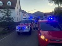 Unterstützung Rettungsdienst, Bleibach, Simonswälder Straße