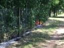 Vegetationsbrand beim Schwimmbad in Kollnau