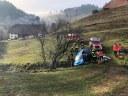 Verkehrsunfall mit eingeklemmter Person, Kohlenbach