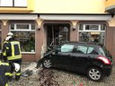 Verkehrsunfall mit eingeklemmter Person, Langestraße