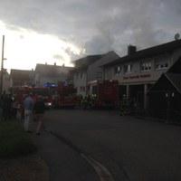 Wohnungs- und Gebäudebrand