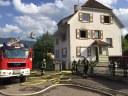 Wohnungs- und Gebäudebrand Aubachstrasse Kollnau