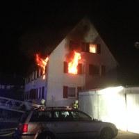 Wohnungsbrand Hindenburgstraße